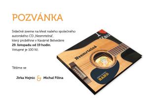 CD pozvánka